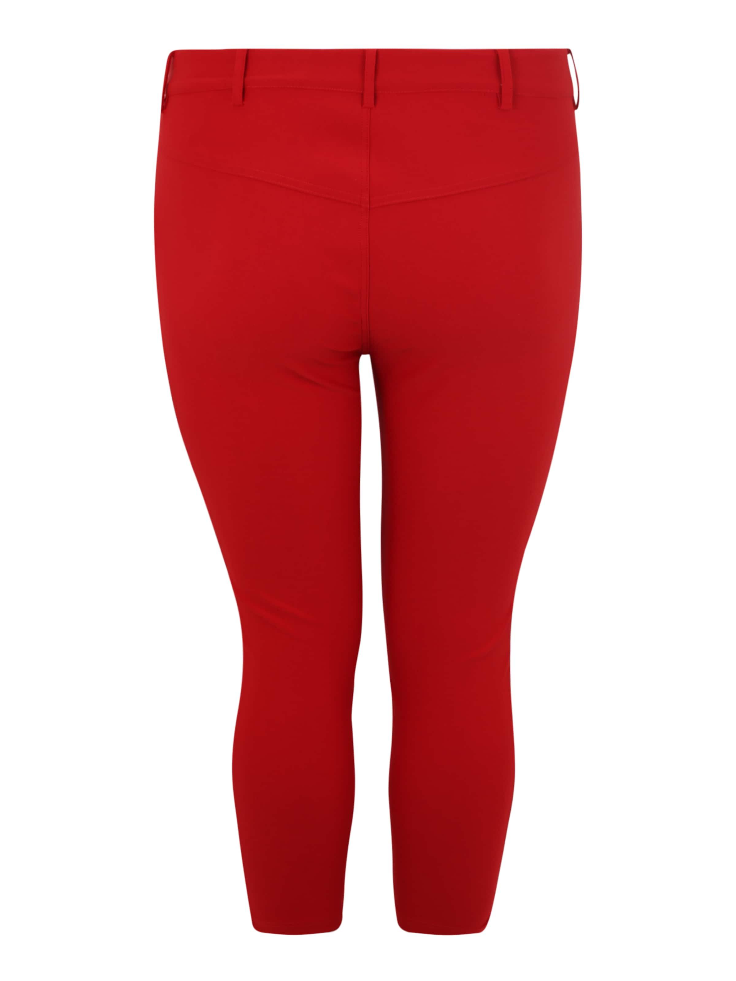Pantalon Pantalon 'jevalia' En Rouge Zizzi 'jevalia' Zizzi 5LARj43