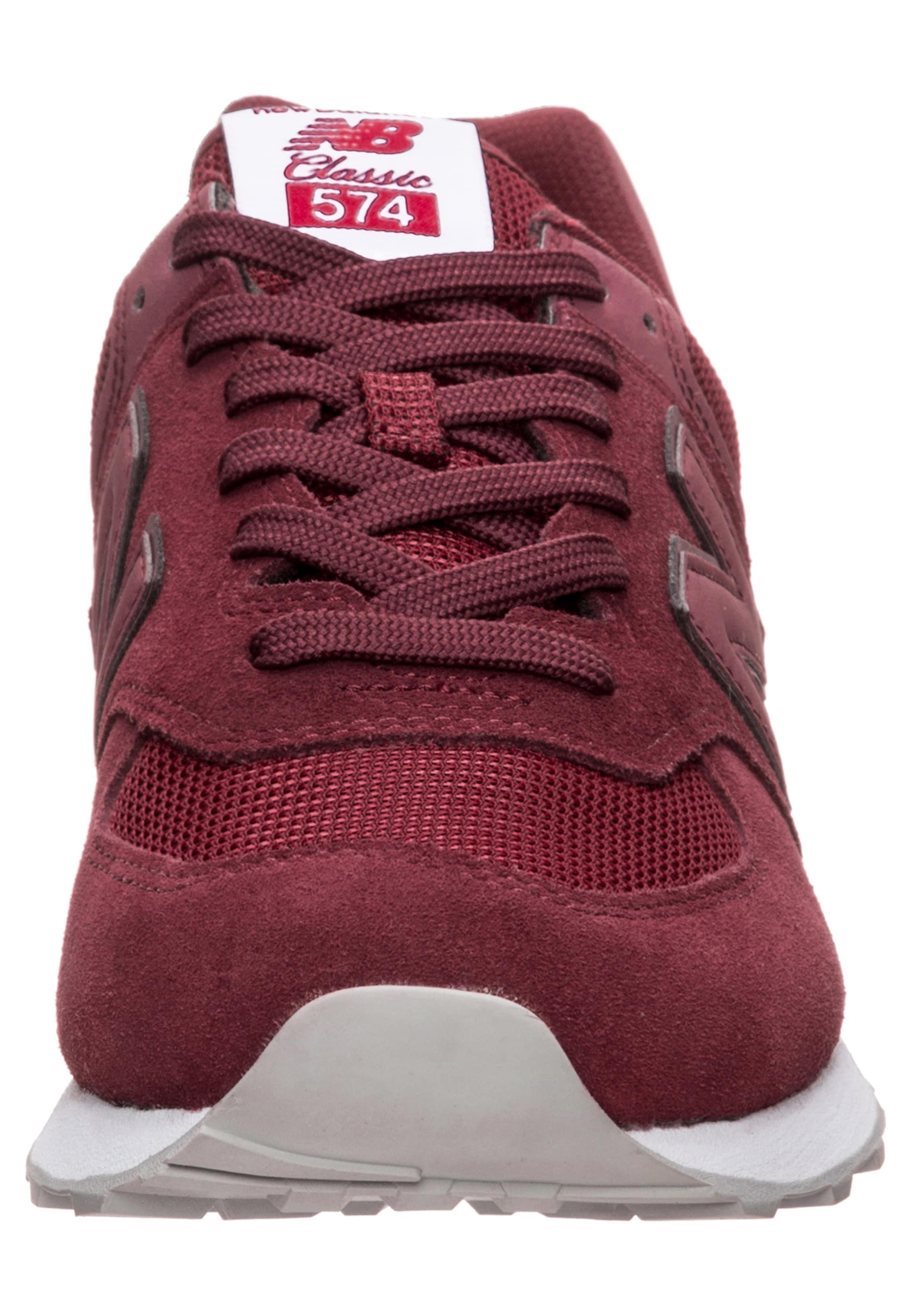 Sneaker In New 'ml574' DunkelrotWeiß Balance DHYeEW29I