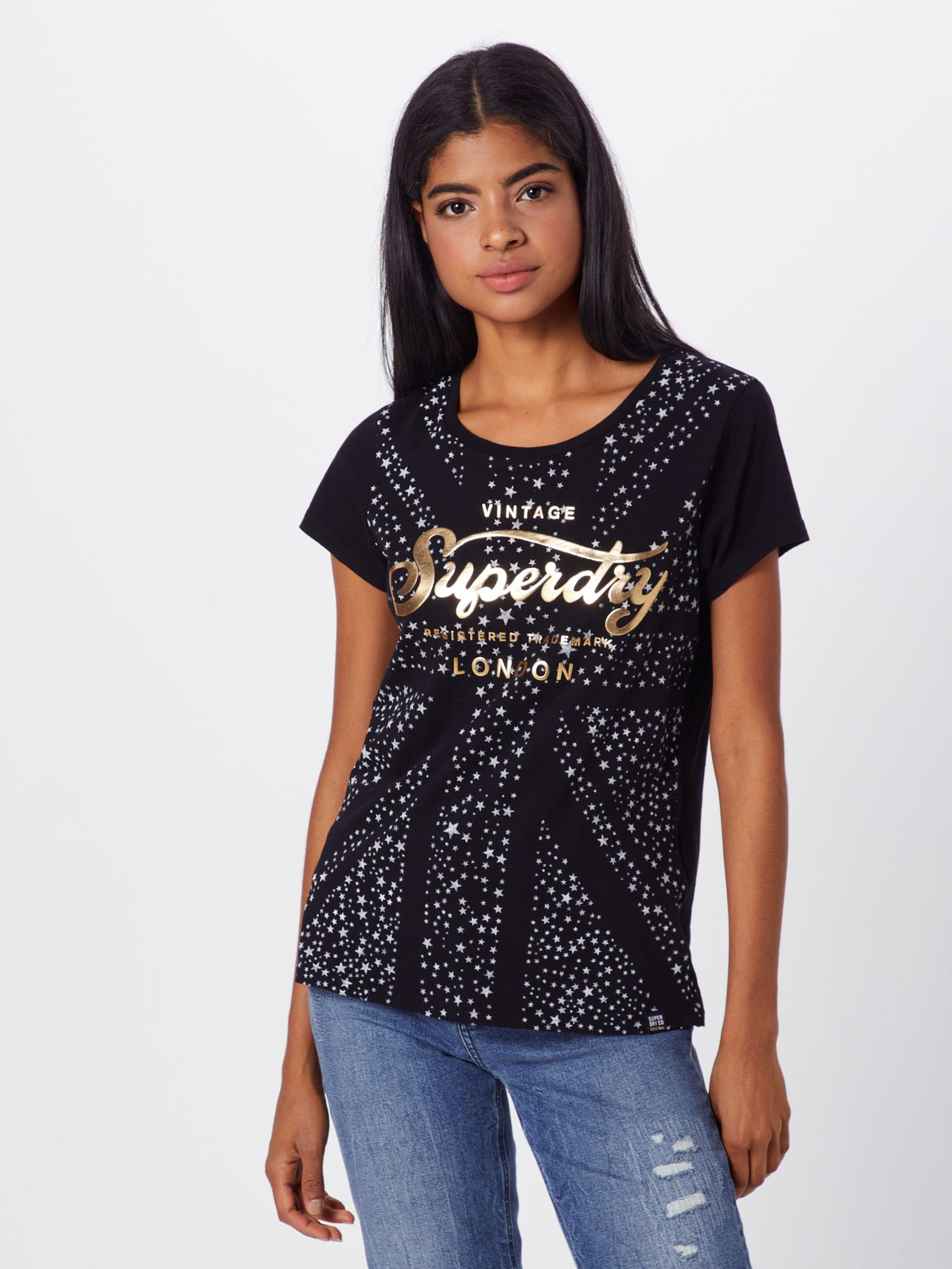 En T OrNoir Superdry shirt Argent xBodCeWQr