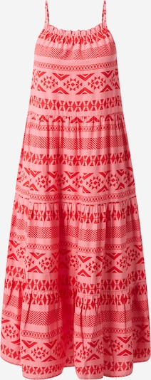 ONLY Kleid 'ONLLUCCA STRAP CALF DRESS WVN' in rosa / rot, Produktansicht