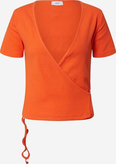 Envii Shirt 'ENALLY' in de kleur Sinaasappel, Productweergave