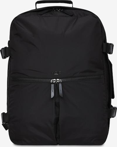 KNOMO Rucksack 'Budapest' in schwarz, Produktansicht
