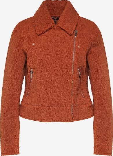 ONLY Jacke 'onlGINGER SHORT TEDDY BIKER OTW' in orange, Produktansicht