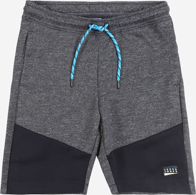 Jack & Jones Junior Shorts in blau / dunkelgrau, Produktansicht