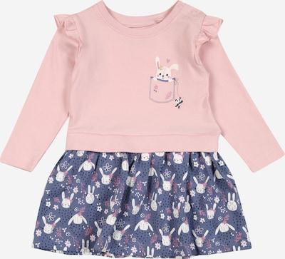 BLUE SEVEN Kleid in dunkelblau / rosa / weiß, Produktansicht