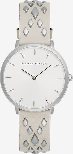 Rebecca Minkoff Uhr 'Major' in silbergrau / weiß, Produktansicht