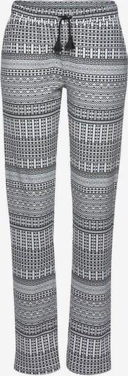 VIVANCE Pyjamasbyxa i svart / vit, Produktvy