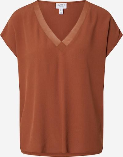 VERO MODA Shirt 'ZAKYNTHOS' in braun, Produktansicht