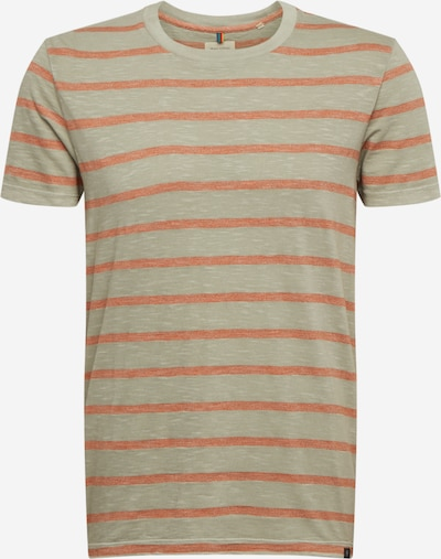 Marc O'Polo Shirt 'Organic' in grau / orange, Produktansicht