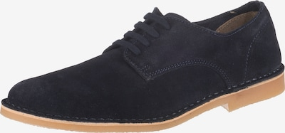 SELECTED HOMME Halbschuhe 'SLHROYCE DERBY LIGHT SUEDE SHOE W' in navy, Produktansicht
