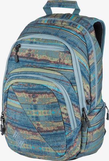 NitroBags Rucksack 'Stash' in blau / mischfarben, Produktansicht