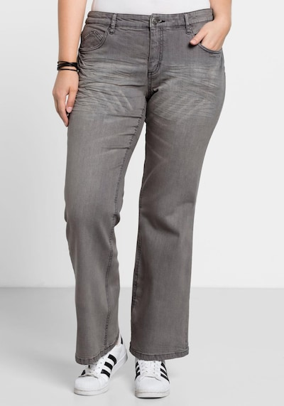 SHEEGO Džíny - šedá, Model/ka