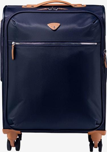 Jump Kabinentrolley 'Riviera' in navy / apricot, Produktansicht