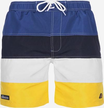 ELLESSE Badeshorts ' Portofino ' in blau / gelb / schwarz / weiß, Produktansicht
