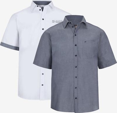 Jan Vanderstorm Doppelpack Hemd 'Evin' in blau / weiß, Produktansicht
