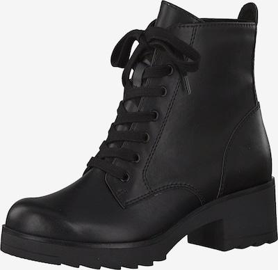 MARCO TOZZI Stiefelelette in schwarz: Frontalansicht