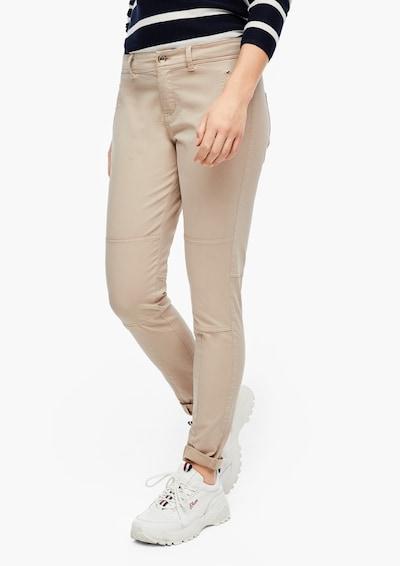 s.Oliver Jeans in de kleur Beige, Modelweergave