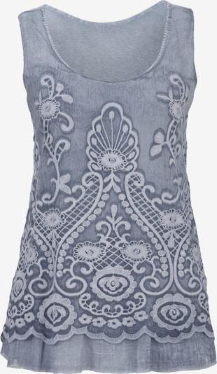 heine Blouse in de kleur Duifblauw, Productweergave