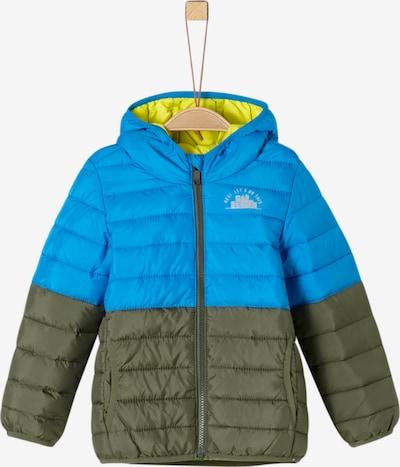 s.Oliver Junior Jacke in blau / grün, Produktansicht