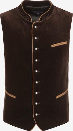 Dalykinio stiliaus liemenė 'Ricardo' iš STOCKERPOINT , spalva - tamsiai ruda, Prekių apžvalga