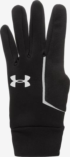 UNDER ARMOUR Laufhandschuh in schwarz / weiß, Produktansicht