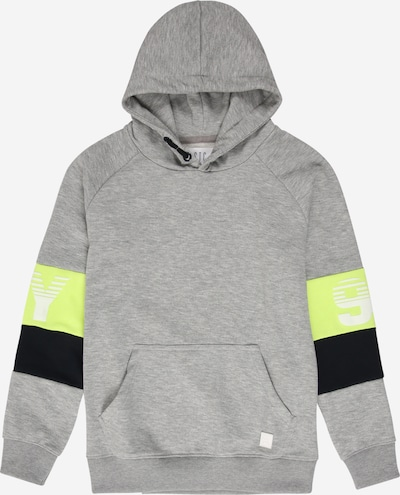 STACCATO Sweatshirt in grey mottled / lime / black, Item view