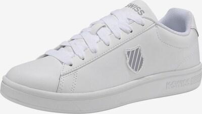 K-SWISS Sneaker 'Court Shield M' in weiß, Produktansicht