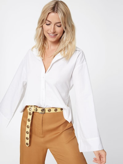 LeGer by Lena Gercke Bluse 'Clara' in offwhite: Frontalansicht