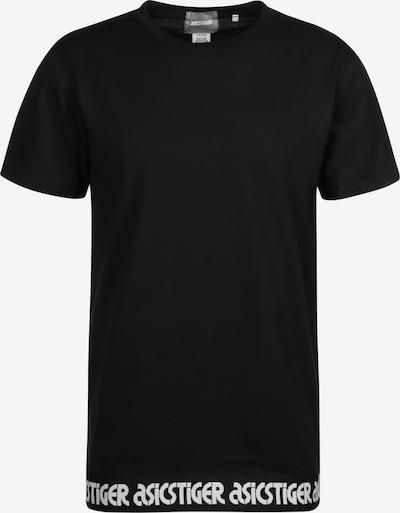 ASICS SportStyle T-Shirt in schwarz / weiß, Produktansicht