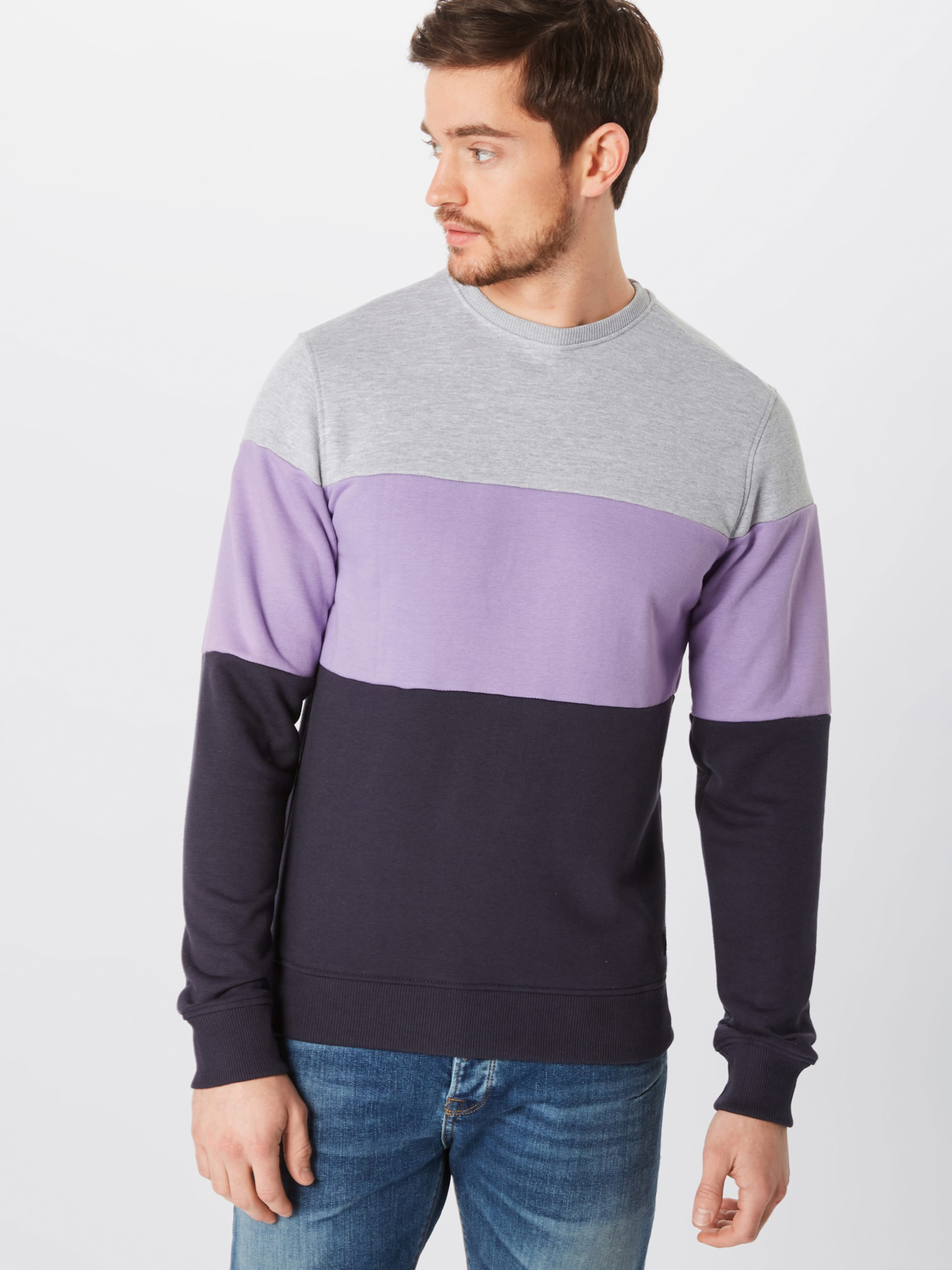 Blend Sweatshirt HellgrauLila Blend In Schwarz HellgrauLila Sweatshirt In 7yfb6Yg