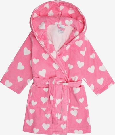 SANETTA Bademantel in pink / weiß, Produktansicht
