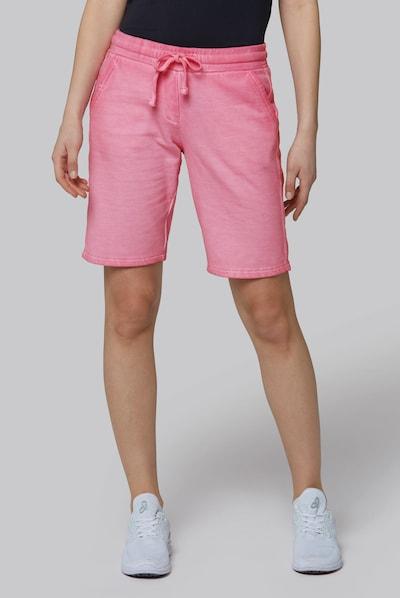 Soccx Sweat-Bermuda mit Seitentape in rosa, Modelansicht