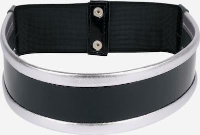 heine Stretchgürtel mit Metallic-Effekt in schwarz, Produktansicht