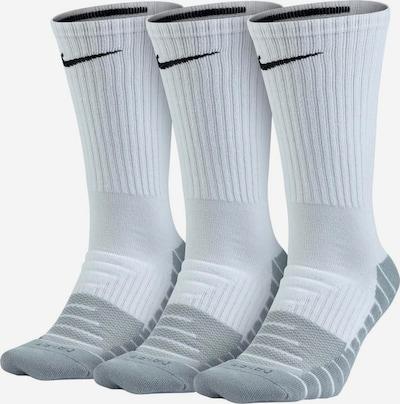 Sportinės kojinės iš NIKE , spalva - šviesiai pilka / juoda / balta, Prekių apžvalga