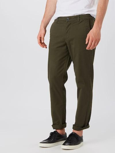 SELECTED HOMME Hose in dunkelgrün, Modelansicht