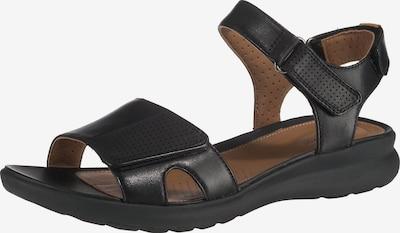 CLARKS Sandale 'Un Adorn Calm' in braun / schwarz, Produktansicht
