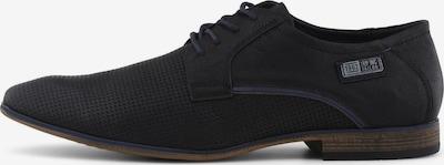TOM TAILOR Schuhe in dunkelblau / schwarz: Frontalansicht