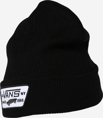 VANS Mütze 'MILFORD' in schwarz / weiß, Produktansicht