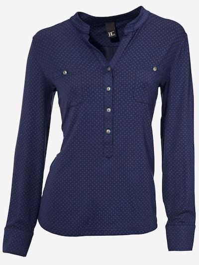heine Blusenshirt in navy / hellblau, Produktansicht