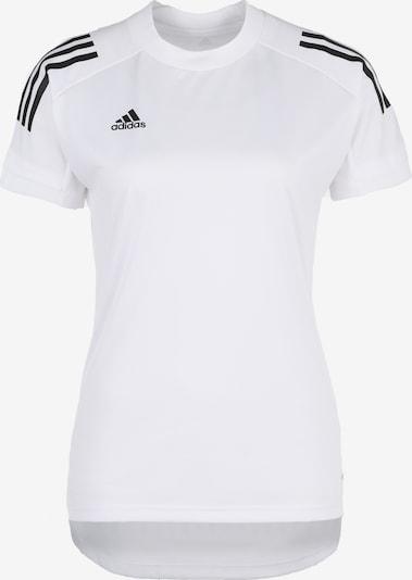 ADIDAS PERFORMANCE T-shirt fonctionnel 'Condivo' en noir / blanc, Vue avec produit