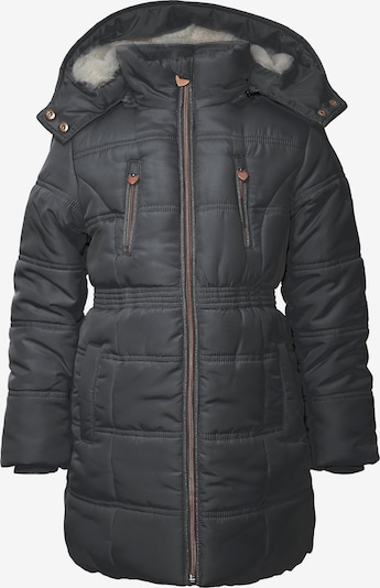 REVIEW FOR KIDS Winterjacke in braun / basaltgrau, Produktansicht