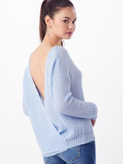 Megztinis iš Missguided , spalva - šviesiai mėlyna: Vaizdas iš galinės pusės
