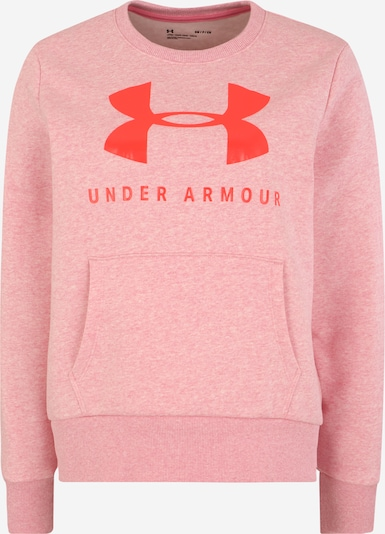 UNDER ARMOUR Sportief sweatshirt in de kleur Grijs / Pink, Productweergave