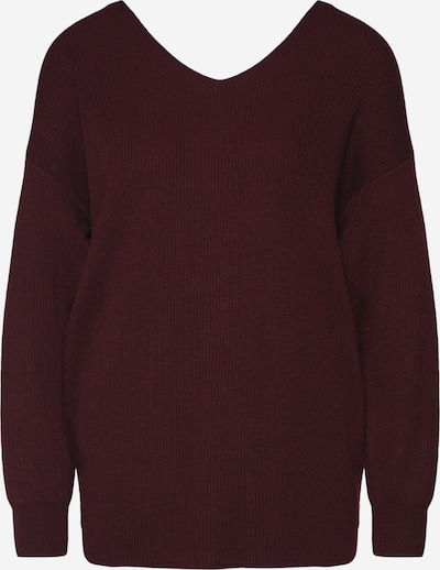 Bardot Pullover 'KNOT BACK SWEATER' in rot, Produktansicht