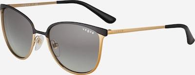 VOGUE Eyewear Sonnenbrille in gold / schwarz, Produktansicht