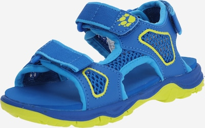 JACK WOLFSKIN Sandales en bleu, Vue avec produit