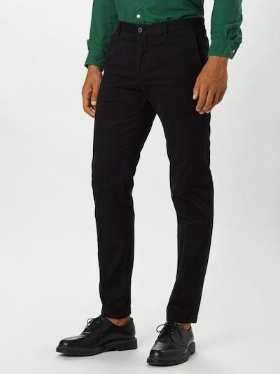 Tommy Hilfiger Tailored Hose in schwarz, Modelansicht