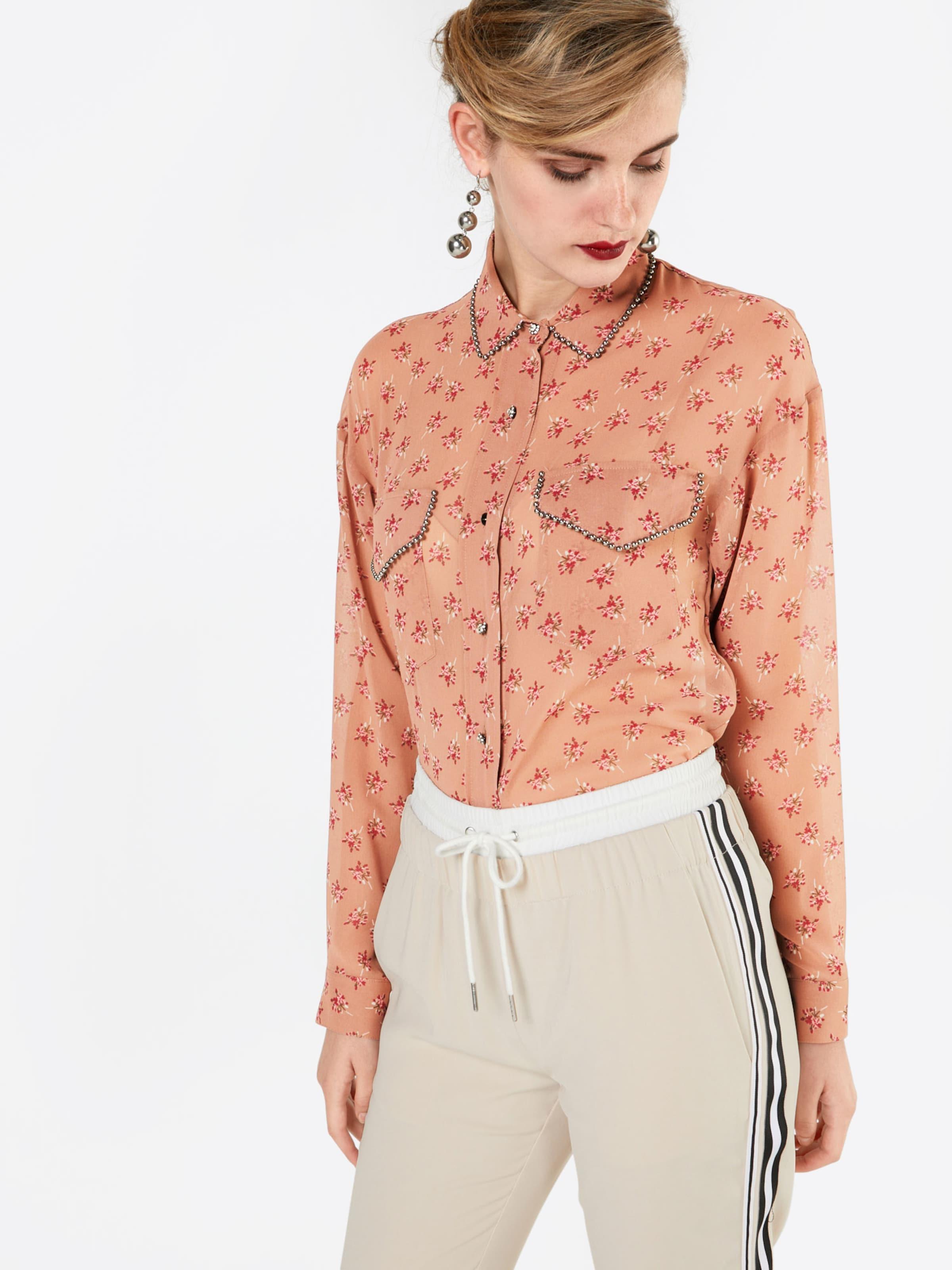 The Kooples Bluse 'CANDY FLOWER ON PES' Günstig Kaufen Shop Billig Verkauf Schnelle Lieferung Niedriger Versand Zum Verkauf Iljzvt5LD