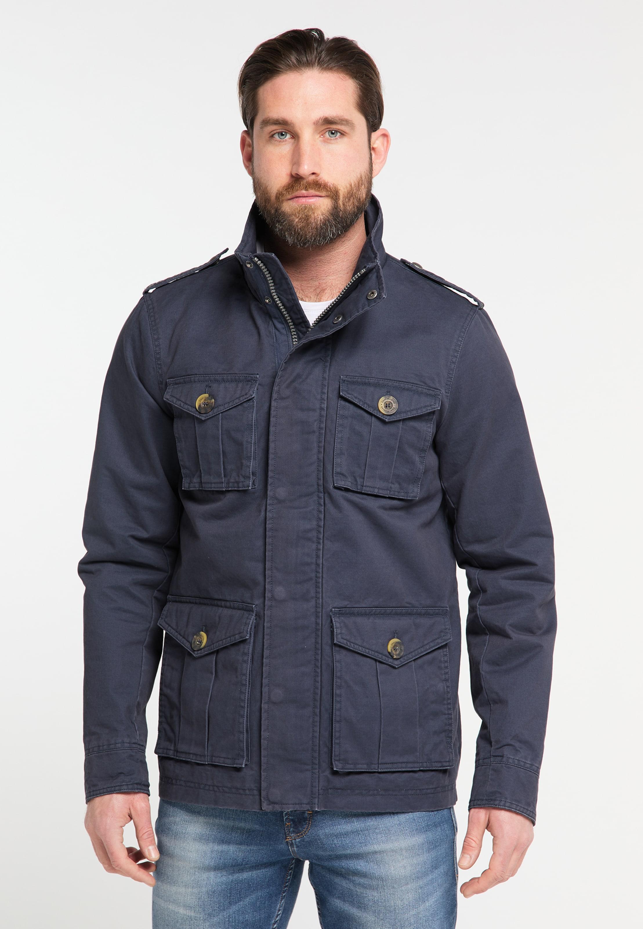 DREIMASTER Jacke in nachtblau Unifarben 4251686654988