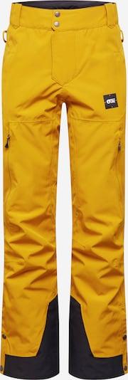 Picture Organic Clothing Sportbroek in de kleur Goudgeel / Zwart, Productweergave